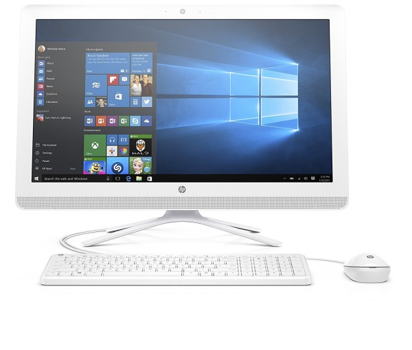 "HP 24-g010 23.8"" All-In-One Desktop (AMD A8-7410, 4GB RAM, 1 TB HDD, Windows 10 Home)"