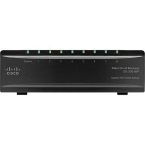 Cisco Linksys 8 Port Gigabit PoE Switch