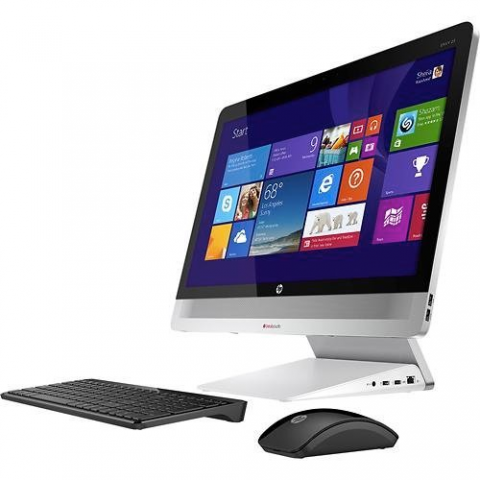 HP Envy 23-O014 All-in-One PC – Intel Core i5, 8GB RAM, 1TB HDD, 23-inch IPS Full HD Touch Display, Windows 8.1