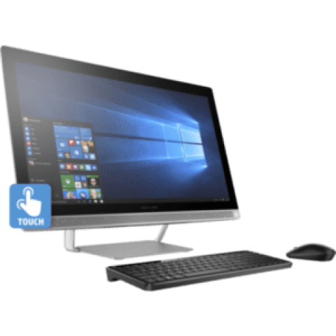 HP Pavilion 27-A030QE All-in-One PC – Intel Core i5, 12GB RAM, 1TB SSHD, DVDRW, 2GB NVIDIA-GeForce Graphics, 27-inch IPS Full HD Touch Display, Windows 10