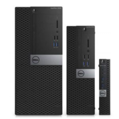 Dell OptiPlex 3040 Micro Tower Business PC – Intel® Core i3, 4GB (1x4GB) 1600MHz DDR3L Memory, 500GB 7200rpm Hard Disk, Wireless + Bluetooth, Windows 10 Pro