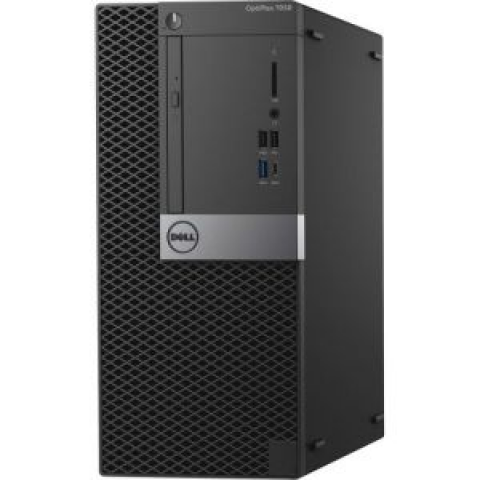 Dell OptiPlex 7050 Small Form Factor PC (OPT022SA)- Intel Core i7, 32GB RAM, 500GB HDD, DVD-ROM, Gigabit Ethernet, 1GB AMD-Radeon Graphics, Windows 10 Pro