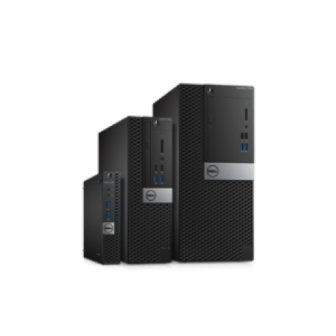 Dell OptiPlex 7040 Micro Tower Business PC – Intel® Core i7, 8GB RAM, 500GB HDD, Gigabit Ethernet, Intel HD Graphics, Windows 10 Pro