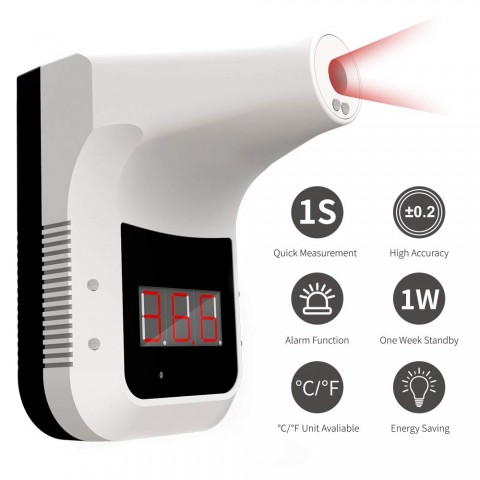 Non-Contact Infrared Temperature Measurement K3 Forehead Thermometer with Alarm