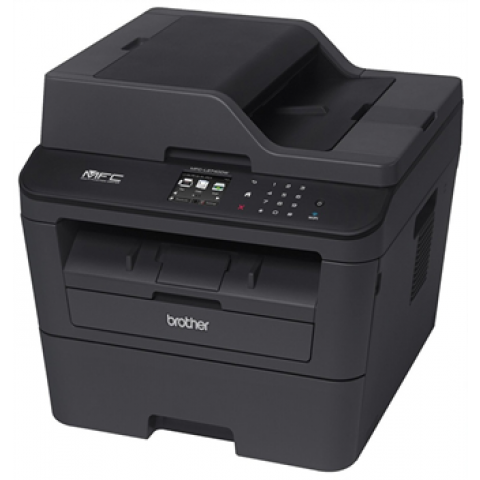 Brother MFC-L2740DW  Wireless Black-and-White All-in-One Laser Printer