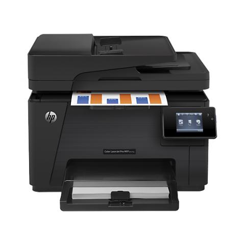 HP M177fw LaserJet Pro All-in-One Color Laser Printer