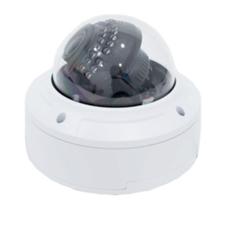 5MP Sibell CCTV IP IR Varifocal Vandal Dome Camera w/ 2 Way