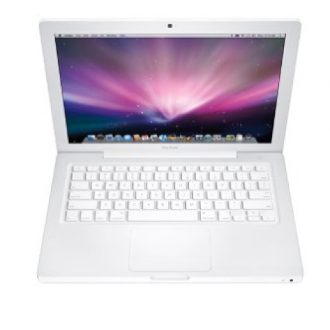 Apple A1181 Macbook MB403LL 13.3 Inch Laptop (2.1 GHz Intel Core 2 Duo Mobile, 2 GB SDRAM, 120GB HDD, Mac OS x 10.7 Lion), White