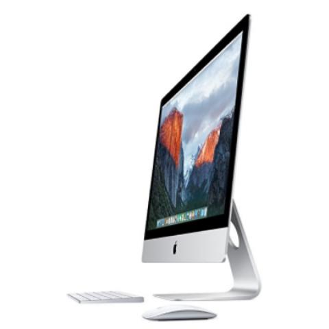 Apple iMac MK482LL/A 27-Inch Retina 5K Display Desktop (Intel Quad-Core i5 3.3GHz, 8GB RAM, 2TB Fusion Drive, Mac OS X), Silver