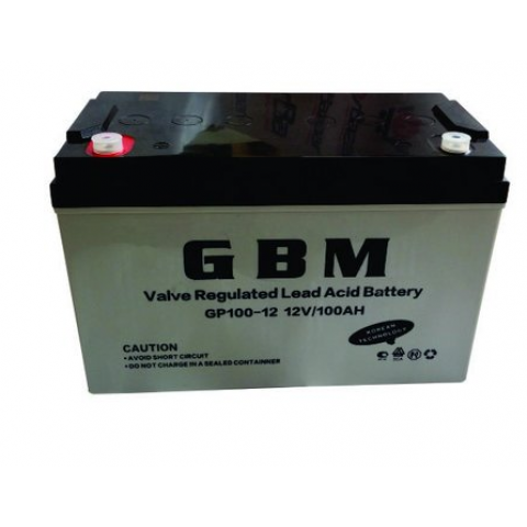 100AH AGM 12V Deep Cycle VRLA Battery