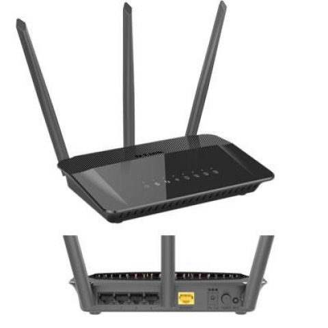 D-Link AC1750 High Power Wi-Fi Gigabit Router - DIR-859