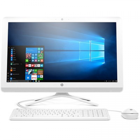 "Hewlett Packard 23"", Pentium J4205 All-in-One PC, 8GB RAM, 1TB HDD, Windows 10 (24-g216, White)"