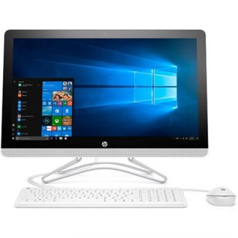 """Hewlett Packard 24-e010 23.8"""" AMD A6-9200 All-in-One Desktop Touch Computer (2017 Model)"""