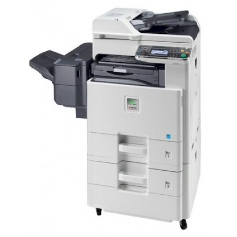 Kyocera FS-C8520MFP Copier w/ 2 X 500 Sheet Cassettes & Inner Finisher