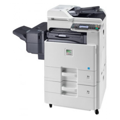 Kyocera FS-C8525MFP Color Copier w/ 2 X 500 Cassettes & Inner Finisher