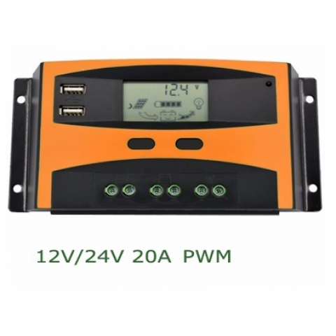 Solar Charge Controller - 20A PMW