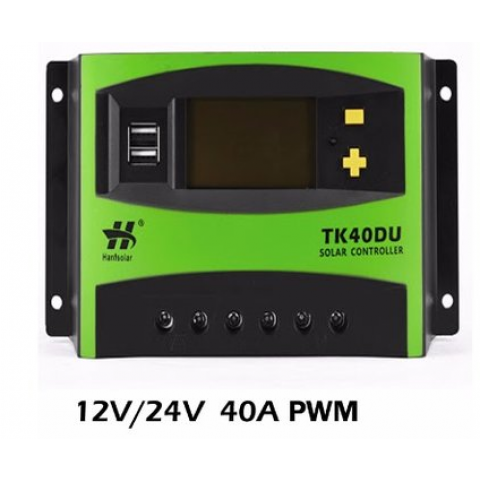 A&S Solar Charge Controller - 40A PMW