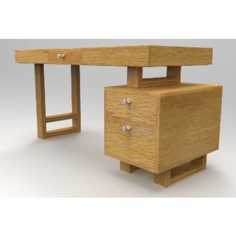 Wooddesignes Avana Series - Office Table - Maple