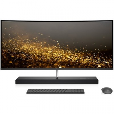 """Hewlett Packard ENVY 34-b010 Intel Core i7-7700T 1TB 34"""" Curved All-in-One Computer"""
